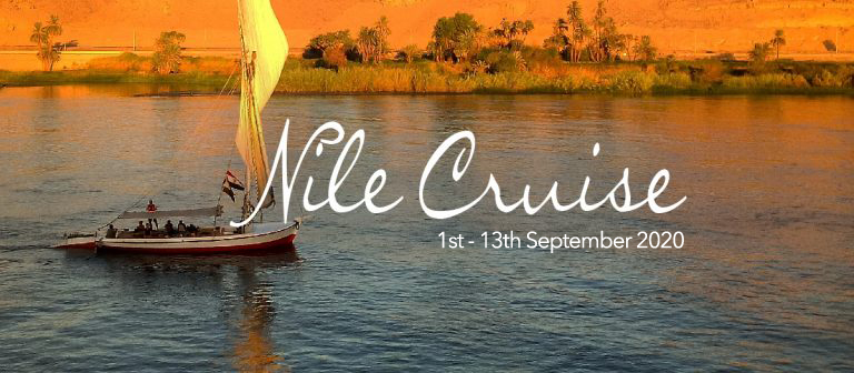 Chrissie Astell Spiritual Retreat Nile Cruise