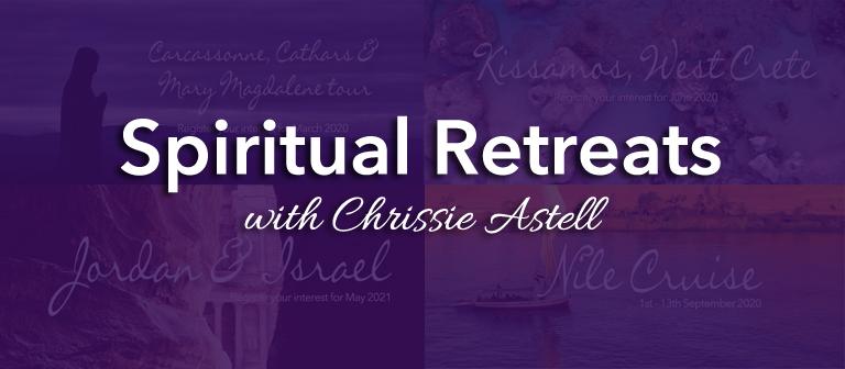 Spiritual Retreats with Chrissie Astell